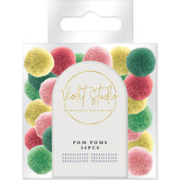 Crafter's Companion - Violet Studio Tropical Collection - Pom Pom Pack