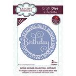 Creative Expressions - Craft Dies - Circle Sayings - Birthday