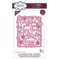 Creative Expressions - Craft Dies - All In One - Friendship