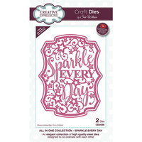 Creative Expressions - Craft Dies - All In One - Sparkle Every Day