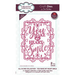 Creative Expressions - Craft Dies - All In One - You Make My Heart Smile