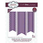 Creative Expressions - Craft Dies - Frames and Tags - Decorative Flags