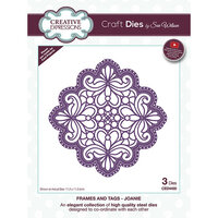 Creative Expressions - Craft Dies - Frames and Tags - Joanie