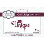Creative Expressions - Craft Dies - Mini Expressions - Be Unique