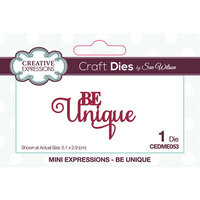 Creative Expressions - Craft Dies - Mini Expressions - Be Unique
