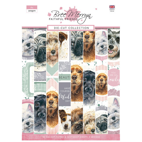 Creative Expressions - Faithful Friends Collection - Die Cut Sheets - A4 Pad