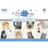 Creative Expressions - Feline Friends Collection - A6 Toppers