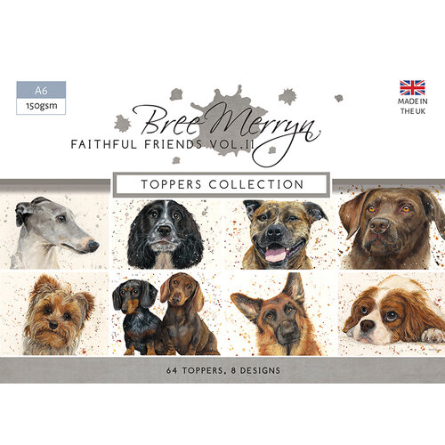 Creative Expressions - Faithful Friends II Collection - A6 Toppers