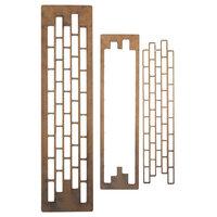 Creative Expressions - Art-Effex - Wood Embellishments - Brickwork