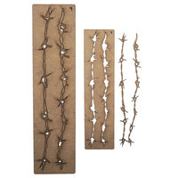 Creative Expressions - Art-Effex - Wood Embellishments - Barbed Wire Border