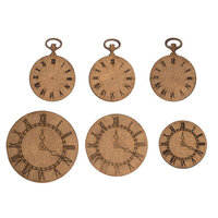 Creative Expressions - Art-Effex - Wood Embellishments - Clock Face