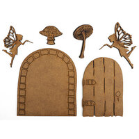 Creative Expressions - Art-Effex - Wood Embellishments - Fairies and Doors