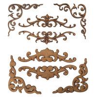 Creative Expressions - Art-Effex - Wood Embellishments - Layered Scrolls