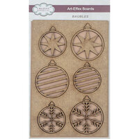 Creative Expressions - Christmas - Art-Effex - Wood Embellishments - Baubles
