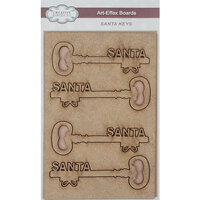 Creative Expressions - Christmas - Art-Effex - Wood Embellishments - Santa Keys