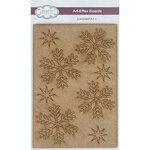 Creative Expressions - Christmas - Art-Effex - Wood Embellishments - Snowfall