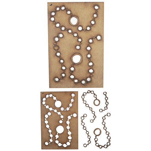Creative Expressions - Art-Effex - Wood Embellishments - Watch Chains