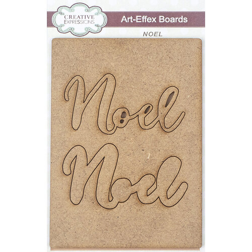 Creative Expressions - Christmas - Art-Effex - Wood Embellishments - Noel