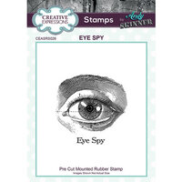 Creative Expressions - Cling Mounted Rubber Stamp - Eye Spy