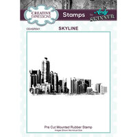 Creative Expressions - Cling Rubber Stamps - Skyline