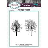 Creative Expressions - Cling Rubber Stamps - Winter Trees