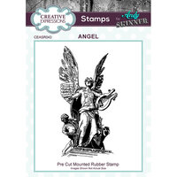 Creative Expressions - Cling Rubber Stamps - Angel