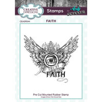 Creative Expressions - Cling Rubber Stamps - Faith