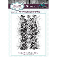Creative Expressions - Cling Rubber Stamps - Vintage Background