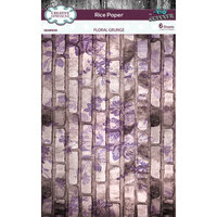 Creative Expressions - Rice Paper Pack - Floral Grunge