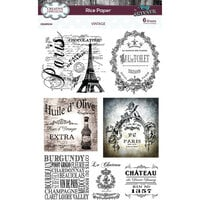 Creative Expressions - Rice Paper Pack - Vintage
