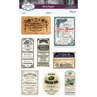 Creative Expressions - Rice Paper Pack - Labels
