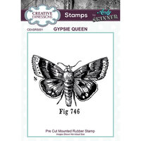 Creative Expressions - Cling Rubber Stamp - Gypsie Queen