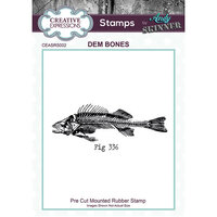 Creative Expressions - Cling Rubber Stamp - Dem Bones