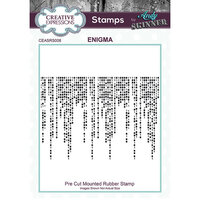 Creative Expressions - Cling Rubber Stamp - Enigma