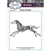 Creative Expressions - Cling Rubber Stamps - Robo Horse