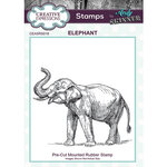 Creative Expressions - Cling Rubber Stamps - Elephant