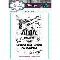 Creative Expressions - Cling Rubber Stamps - Roll Up