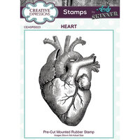 Creative Expressions - Cling Rubber Stamps - Heart