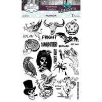 Creative Expressions - Halloween - Mixed Media Transfers - Horror