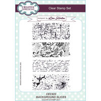 Creative Expressions - Clear Acrylic Stamps - A5 - Background Slices