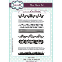 Creative Expressions - Clear Acrylic Stamps - A5 - Creative Borders