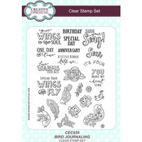Creative Expressions - Clear Acrylic Stamps - Bird Journaling