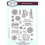 Creative Expressions - Clear Acrylic Stamps - Flower Journaling