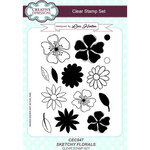 Creative Expressions - Clear Acrylic Stamps - Sketchy Florals
