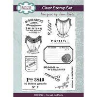Creative Expressions - Clear Photopolymer Stamps - Corset de Paris