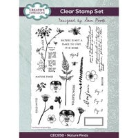 Creative Expressions - Clear Photopolymer Stamps - Nature Finds