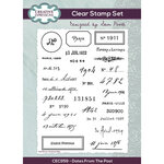 Creative Expressions - Clear Photopolymer Stamps - Dates From The Past