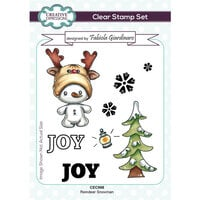 Creative Expressions - Christmas - Clear Photopolymer Stamps - Reindeer Snowman