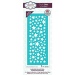 Creative Expressions - Craft Dies - Slimline - Stars Background