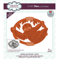 Creative Expressions - Safari Collection - Craft Dies - Sloth